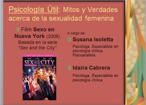 Mitos y verdades acerca de la sexualidad femenina